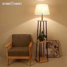 in floor lighting fixtures. modern floor lamp for living room cotton material lampshade wooden stand lighting fixtures free in c