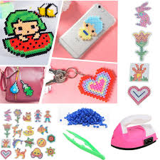 5mm hama perler beads diy craft template puzzle pegboards pattern kids toys 7 7 of 10