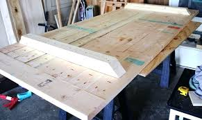 how to build a rustic dining table top supports diy rustic round dining table