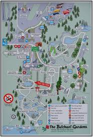 butchart gardens map. Delighful Butchart Travel  North America Canada British Columbia Vancouver Island Butchart  Gardens Map D Holmes Chamberlin Jr Architect Llc For Butchart Gardens Map O