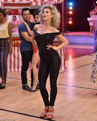 Julianne Hough s sexy Sandy leads Grease Live to five star reviews.
