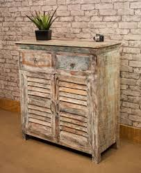 Tall Sideboard vintage style tall sideboard in aged paint effect 5152 by xevi.us