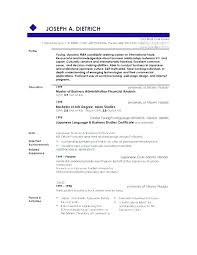 Resume Profile Summary Best Resume Profile Samples Good Of Resumes Examples Statements Summary