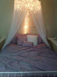 Tulle Canopy Diy 7 Dreamy Diy Bedroom Canopies Icicle Lights Bed Canopies And