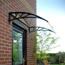 full image for glass door awning the diffe styles of front door awnings classy door design