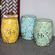 chinese porcelain garden stool china
