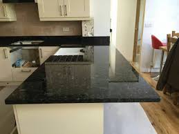 blue granite worktops kitchen
