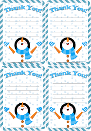 Free Holiday Thank You Letter Printable