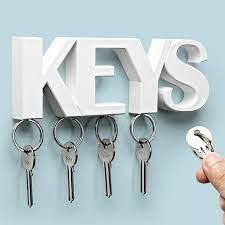 keys key holder white by qualy
