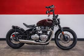 new 2018 triumph bonneville bobber motorcycles in brea ca
