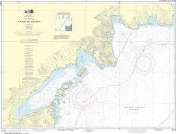 Noaa Nautical Chart 16570 Portage And Wide Bays Alaska Pen
