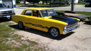 Chevy Nova Door Custom Race Car For Sale Photos Technical
