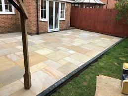 natural paving slabs mixed patio pack