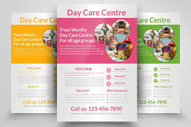 Day Care Centre Flyer Template