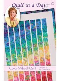 Color Wheel Quilt: Eleanor Burns Signature Pattern 735272012429 ... & Color Wheel Quilt: Eleanor Burns Signature Pattern Adamdwight.com