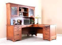 oak desks for home office. Oak Corner Desks For Home Office Solid Of Wood .