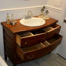 dresser vanity bathroom
