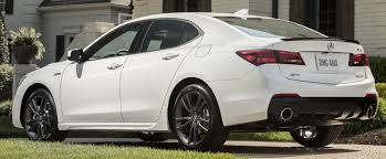 2018 acura tlx a spec black. interesting tlx acura reflects on its sporty roots with the newfor2018 aspec featuring  unique 19inch wheels wider tires side sills a black trunklid spoiler  inside 2018 acura tlx spec