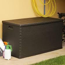 inlife 111 gallon garden storage box