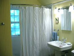 round shower curtain rod curved shower rod round shower curtain rod bathroom ceiling support design house