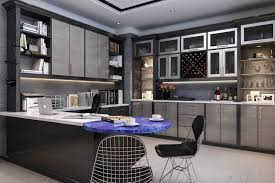 Building home office Backyard Office At Home With Kitchenette Townofresacacom Custom Home Offices Office Builtin Design Closet Factory