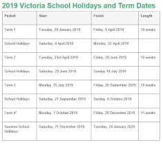 Kindergarten Term Dates - GEKA