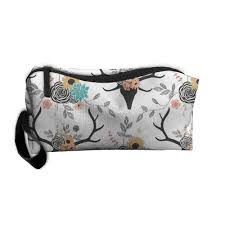 fl deer cosmetic bag portable travel makeup case pouch toiletry wash organizer good
