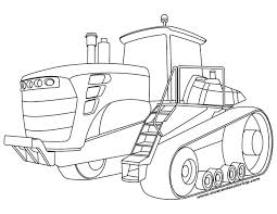 Small Picture Awesome John Deere tractor coloring page ready to print or