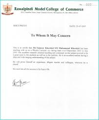 Welder Experience Certificate Format Doc Best Of Experience Letter