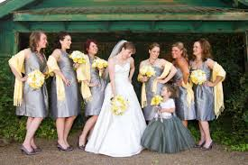 yellow and gray wedding ideas, yellow wedding shoes & bouquets Wedding Decorations Yellow And Gray seriously look at this table setting! love how something so small as a single flower stem elevates the look to something so beautiful and special wedding decorations yellow and gray