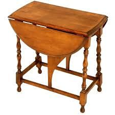 leaf side or end table for vintage old charm drop l old