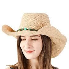 NAMANANA Cowboy Hats Classic <b>Straw Hat Summer Sun Hats</b>