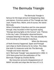 poems phillipcebuhar dickinsons dark poem we grow accustomed to 2 pages the bermuda triangle the bermuda triangle is famous for the large amount of dissapering sh