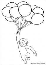 Curious George Coloring Pages On Coloring Bookinfo