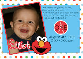 elmo 1st birthday invitations bined with various colors to modify your birthday invitation cards invitation card design 3