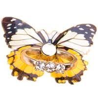 <b>1pcs Universal</b> Rhinestone Butterfly Finger Holder For Smart Phone ...