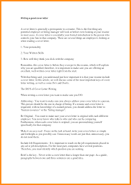 9 Write A Good Cover Letter Agenda Example