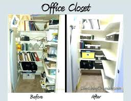 organized office closet. Simple Closet Office Supply Organizer For Closet Organization Organize    To Organized Office Closet