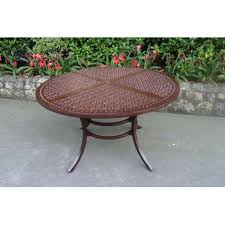 santa rosa round dining table american home furniture sta santa top view ld a