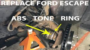 2005 Ford Escape Abs Light On Replace 2008 Ford Escape Front Abs Tone Ring