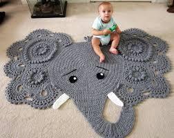 Elephant Rug Crochet Pattern Gorgeous Elephant Rug Crochet Elephant Crochet Elephant Rug Elephant Etsy