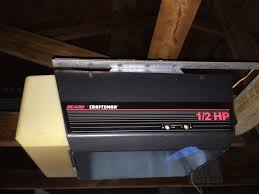 craftsman garage doorsCraftsman Garage door opener 12 HP Older model  YouTube