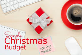 free-christmas-budget-worksheet-2 • Affording Motherhood