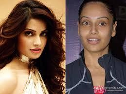 bollywood actresses without makeup bipasha b
