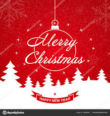 Christmas Background Christmas Greeting Card Template With