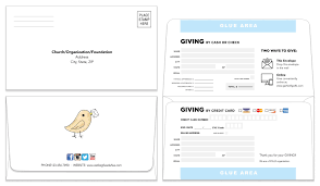 Remittance Envelope | Template 105 | Donation Envelope