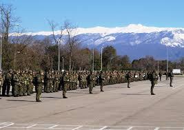 Более новобранцев российской военной базы в Абхазии готовятся  Более 500 новобранцев российской военной базы в Абхазии готовятся к выполнению упражнений контрольных стрельб