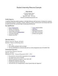resume sample x    seangarrette cogallery of resume examples for college students looking for internships   resume sample