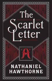 Scarlet Letter Book Cover The Scarlet Letter Nathaniel Hawthorne 9781435159655