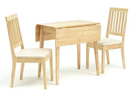 small kitchen table with chairs and
